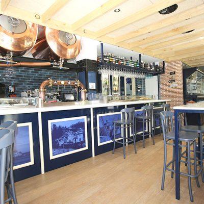 El Acebo - Interior del Restaurante