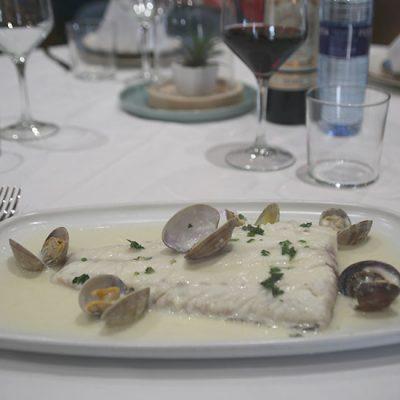 Restaurante El Acebo, Degustación Merluza