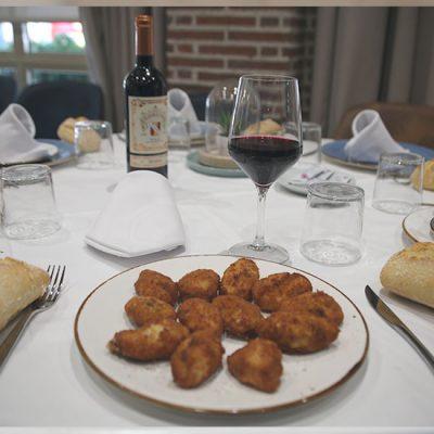Restaurante El Acebo, Ración de Croquetas
