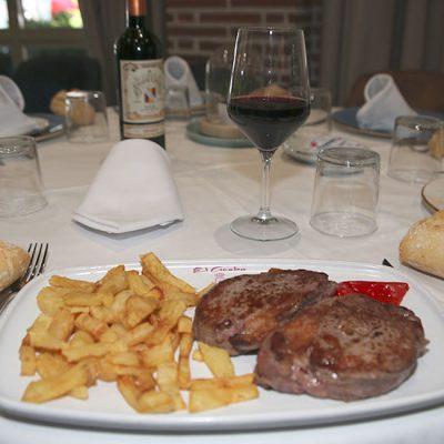 Restaurante El Acebo, Filete de Ternera
