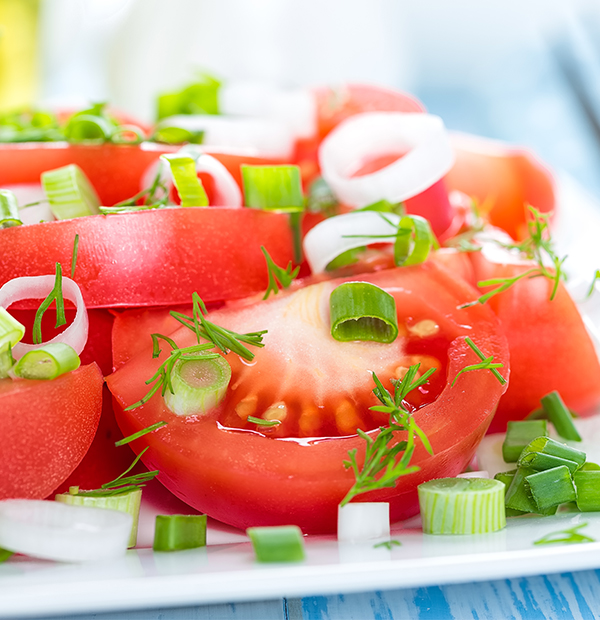 Ensalada de tomate - El Acebo